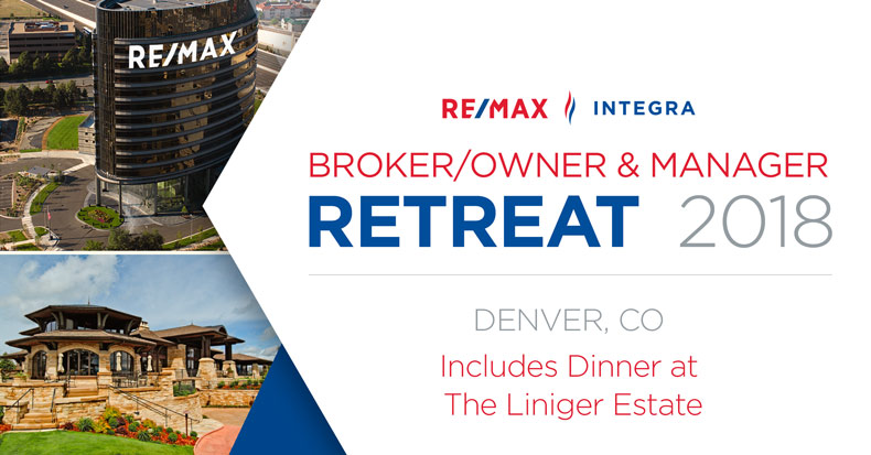 RE/MAX INTEGRA Broker/Owner & Manager Retreat
