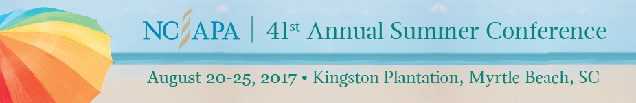 41st Annual NCAPA Summer Conference