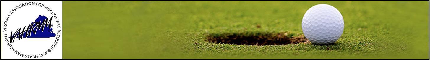 22nd Annual VAHRMM Charity Golf Tournament