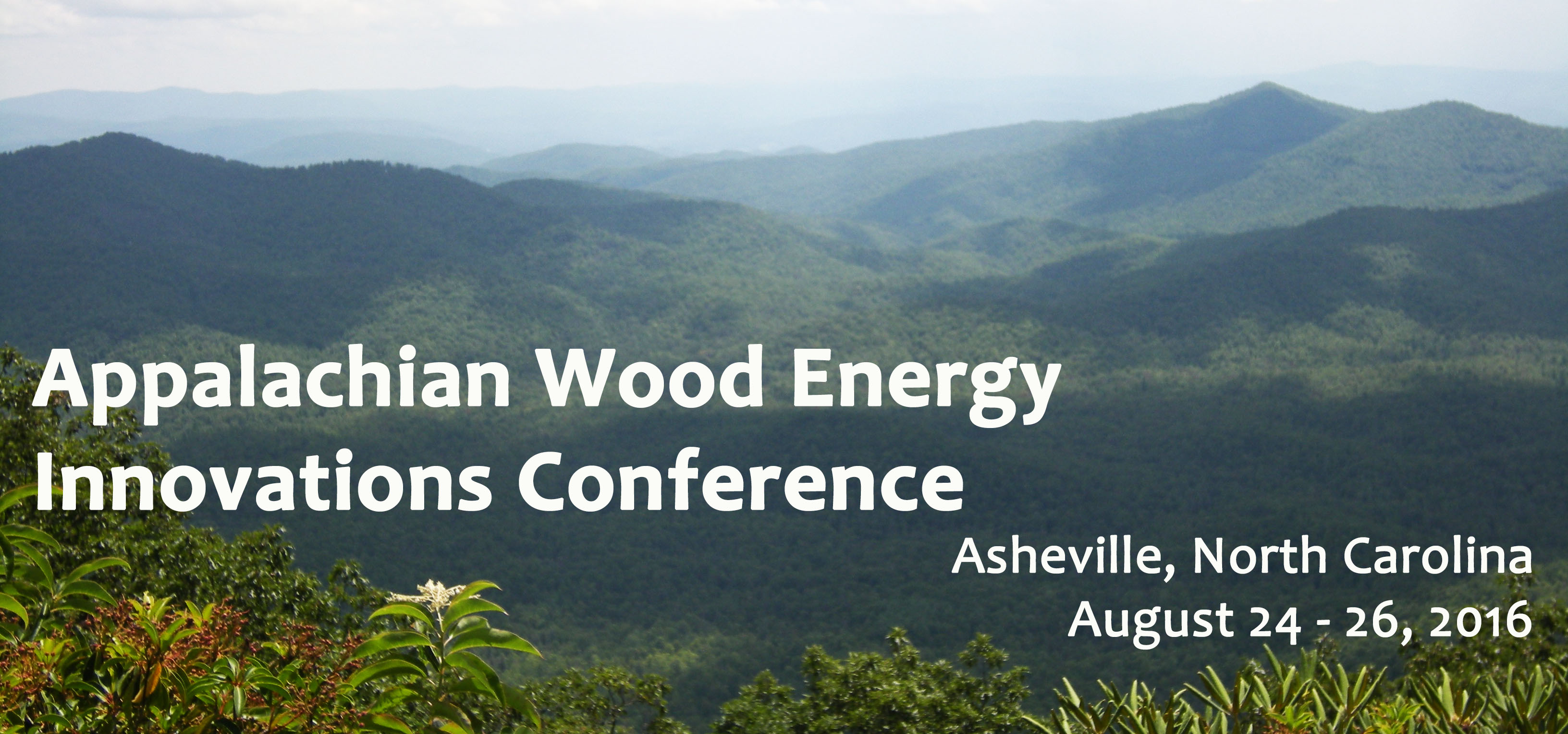 Appalachian Wood Energy Innovations Conference