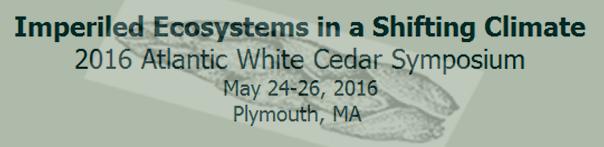 2016 Atlantic White Cedar Symposium