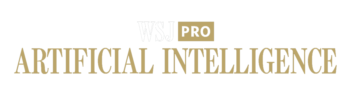 WSJ Pro Artificial Intelligence
