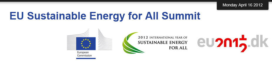 EU Sustainable Energy for All Summit