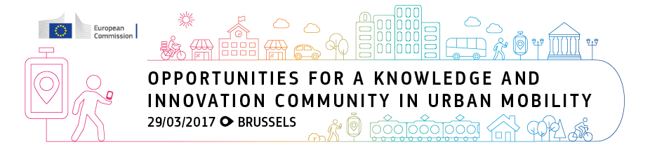 Conference on 'Opportunities for a Knowledge and Innovation Community in Urban Mobility'