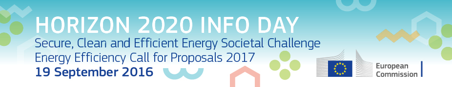 H2020 Energy Efficiency Info Day 2016