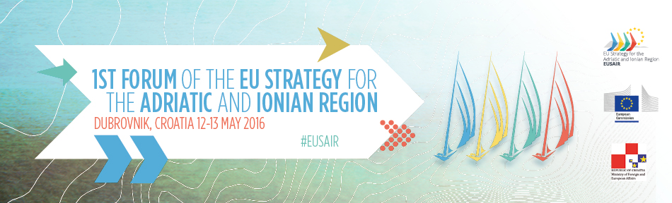 1st EUSAIR Forum of the EU Strategy for the Adriatic and Ionian Region