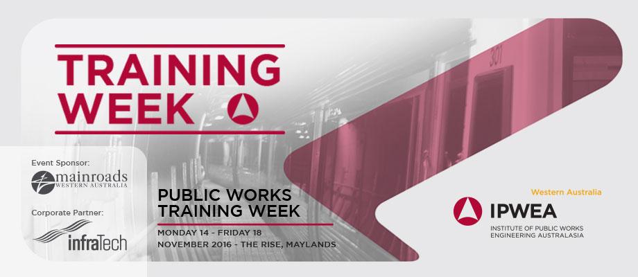 2016 Public Works Training Week