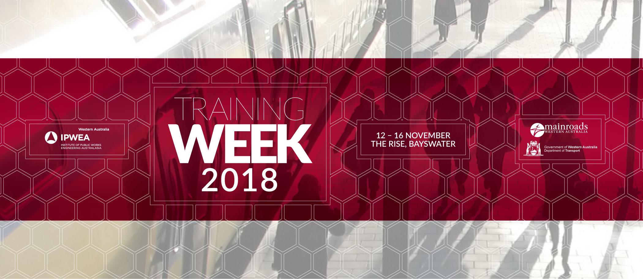 2018 Public Works Training Week