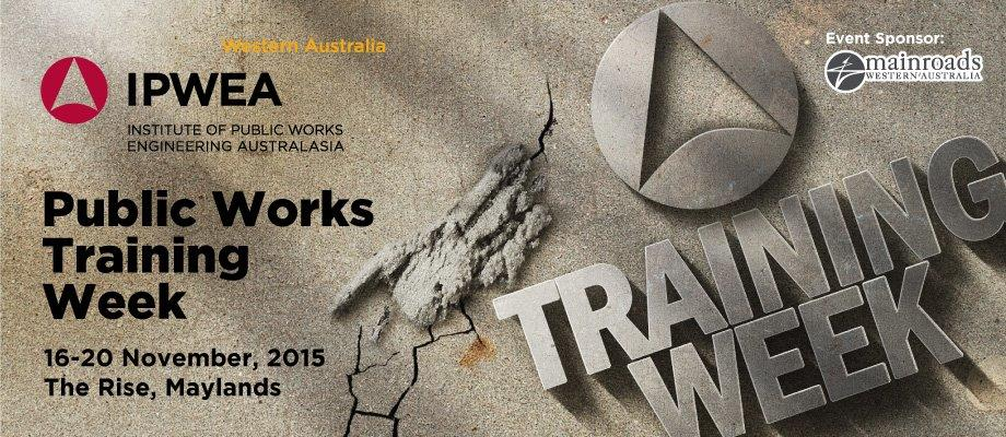 2015 Public Works Training Week