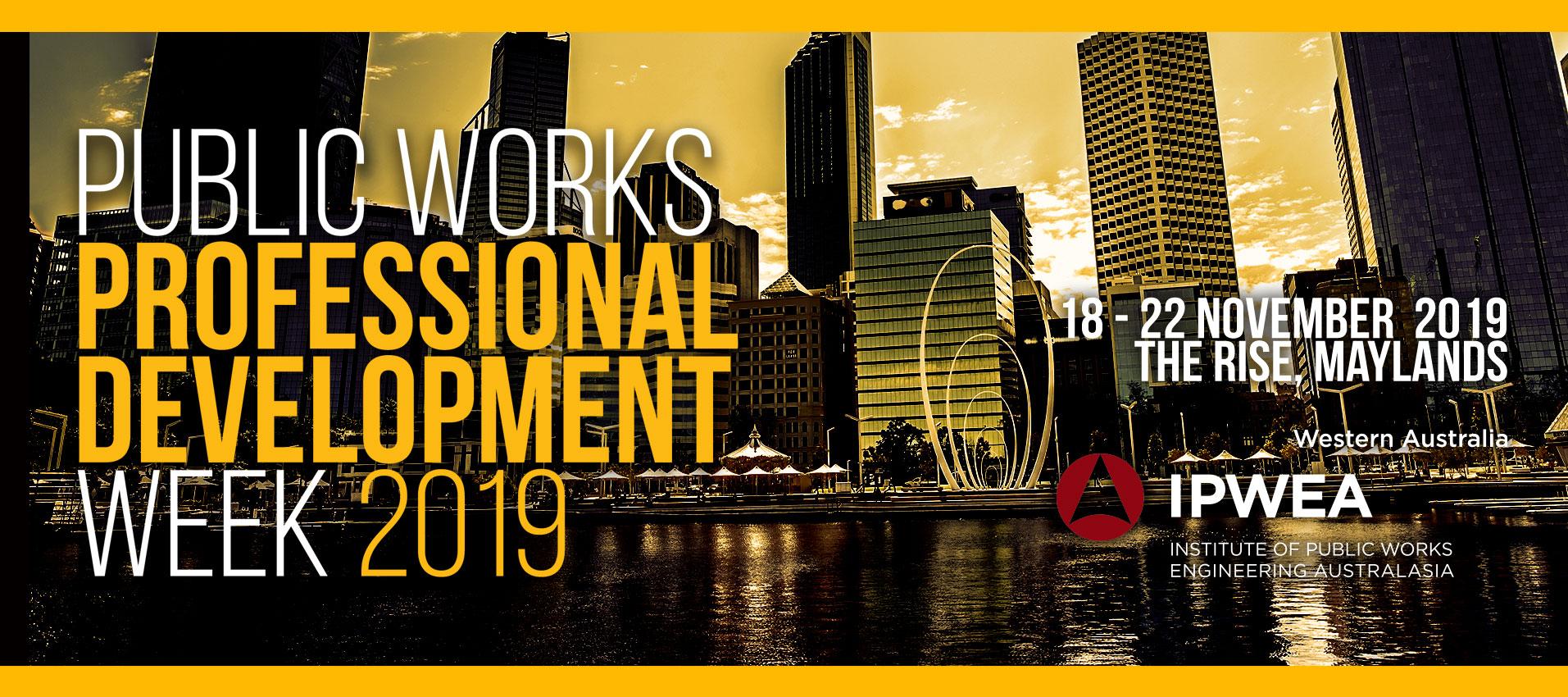 2019 Public Works Professional Development Week