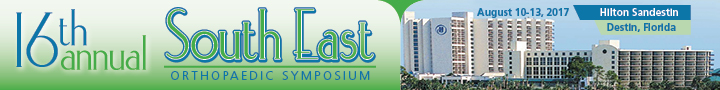 16th Annual South East Orthopaedic Symposium