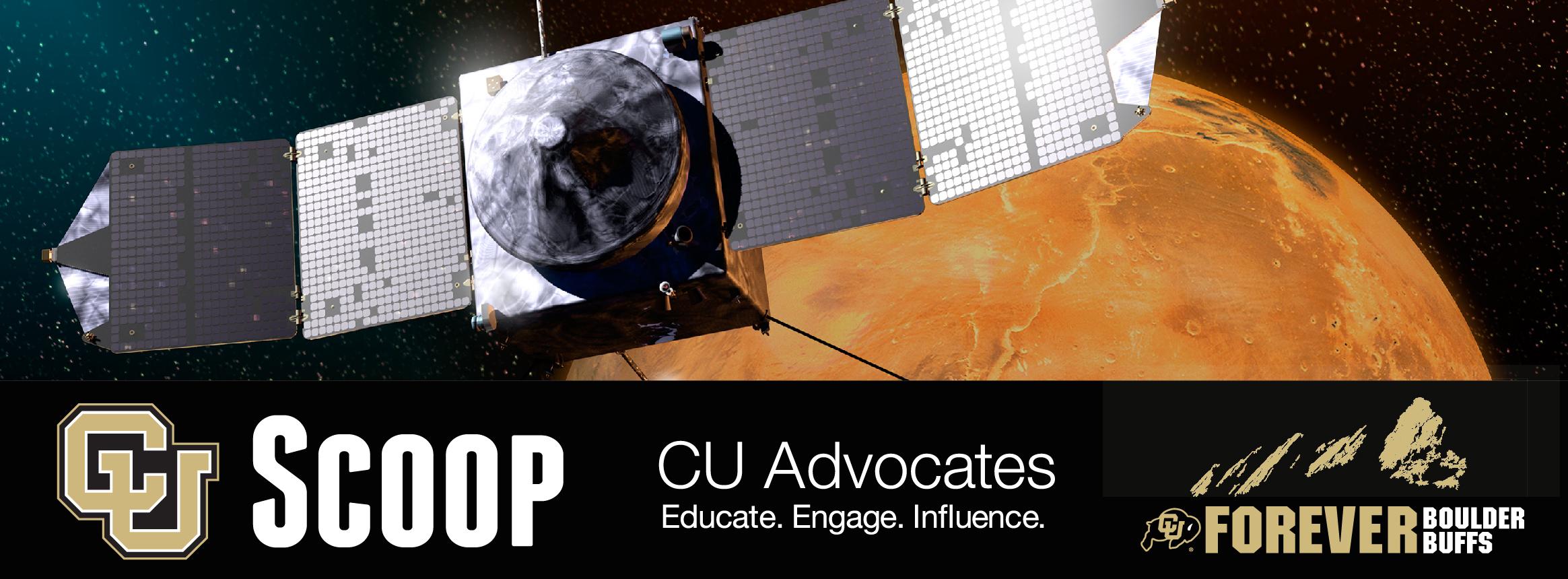 CU Scoop Educational Program on CU-Boulder's  Prowess in Aerospace and Fiske Planetarium