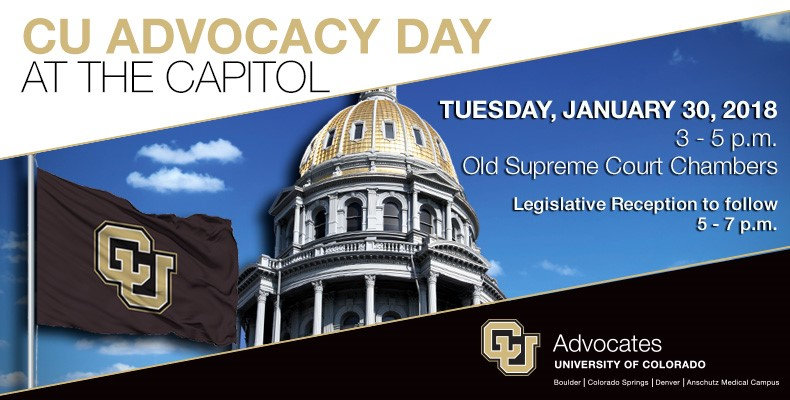 2018 CU Advocacy Day at the Capitol