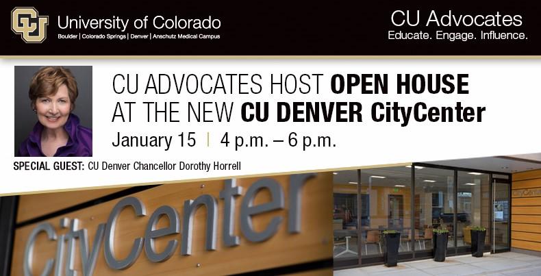 CU Advocates Open House | Denver