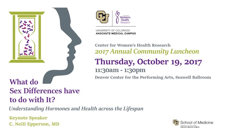 2017 Center for Women's Health Research Annual Community Luncheon