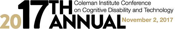 November 2, 2017 Coleman Conference Date