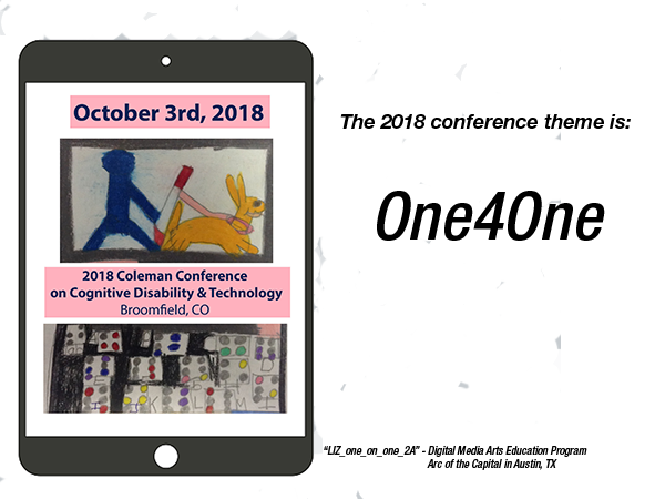 2018 Coleman Institute Conference on Cognitive Disability & Technology Registration
