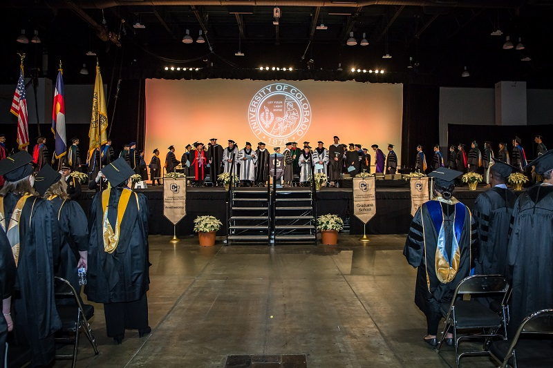 CU Anschutz Medical Campus Fall Commencement Ceremony