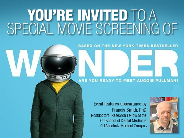 CU Hosts Special Screening of Wonder | Dec. 6