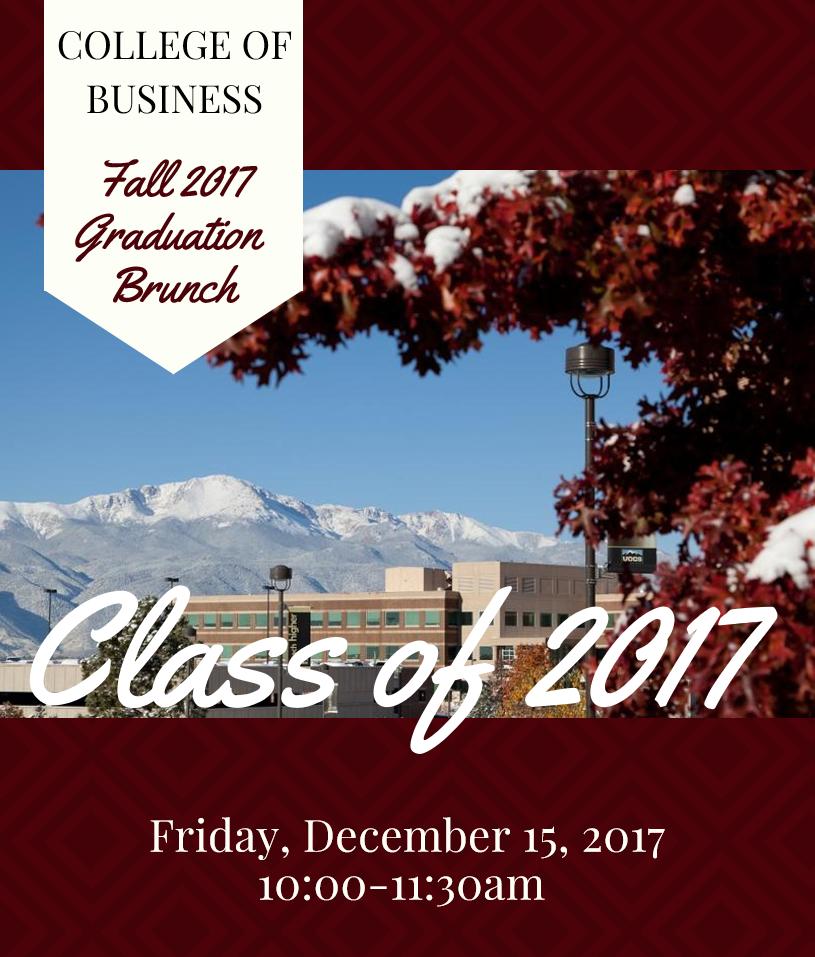 2017 Fall Grad Brunch