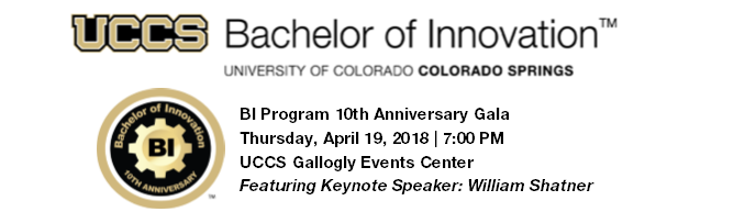 UCCS Bachelor of Innovation 10th Anniversary Gala: Hope and Innovation Tickets