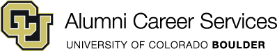 CU-Boulder Alumni Career Services