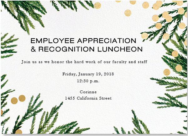 Luncheon-Invite