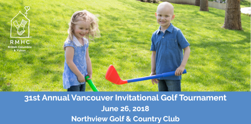 2018 RMH BC Vancouver Golf Tournament