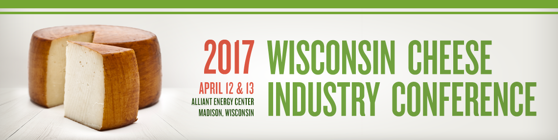 2017 Wisconsin Cheese Industry Conference