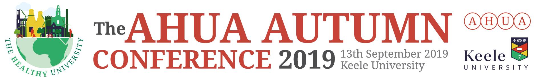 AHUA Autumn Conference 2019