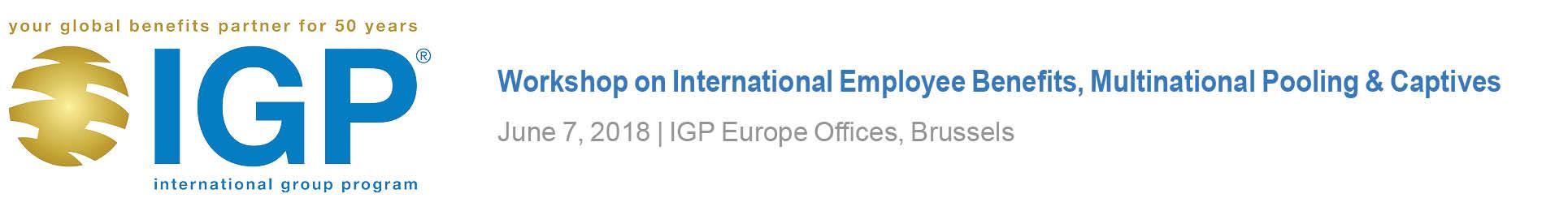 IGP Training Workshop for International Advisors