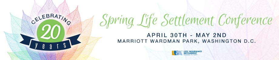 20th Annual Spring Life Settlement Conference