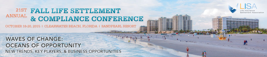 21st Annual Fall Life Settlement and Compliance Conference