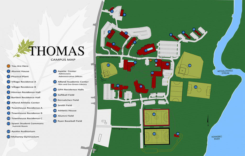 TC campus-map