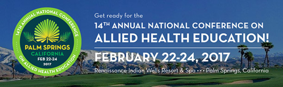 14th Annual National Conference on Allied Health Education