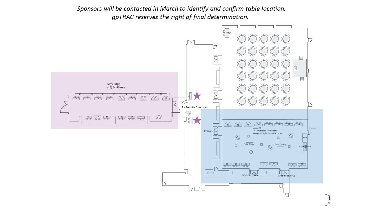 Updated Exhibitor Diagram for Sponsors