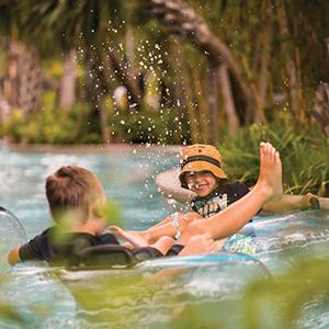 kids in lazy pool 300