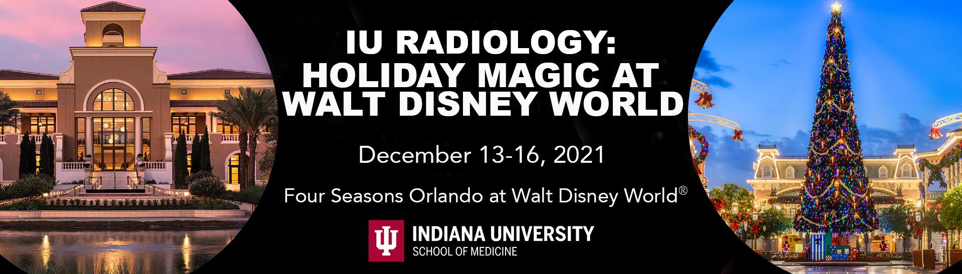 IU Radiology- Holiday Magic at Walt Disney World 2021