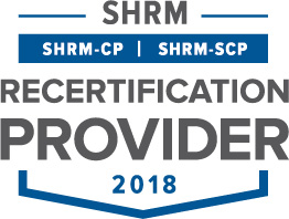 SHRM Recertification Provider CP-SCP Seal 2018