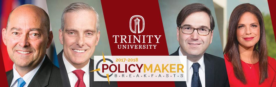 Policy Maker Breakfast Series 2017-2018