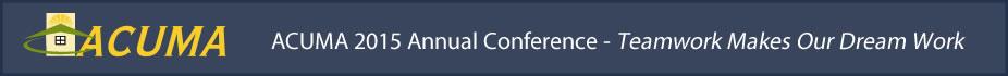 ACUMA 2015 Annual Conference