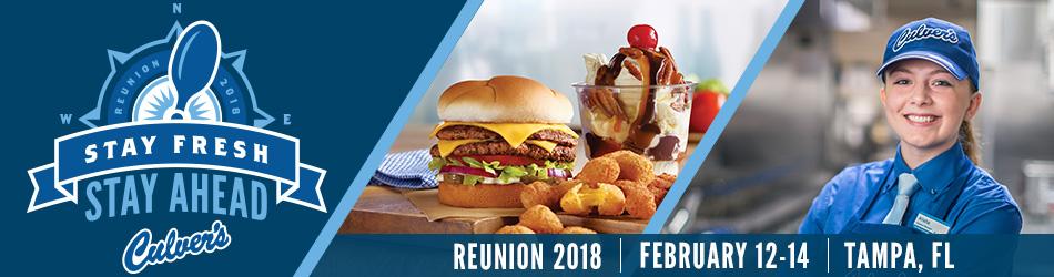 Culver's 2018 Reunion