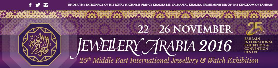 Jewellery Arabia 2016