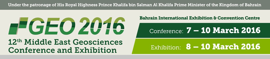 GEO 2016 - 12th Middle East Geosciences Conference and Exhibition