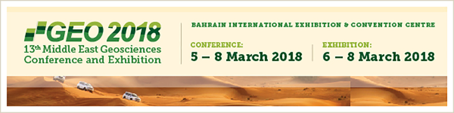 GEO 2018 - 13th Middle East Geosciences Conference and Exhibition