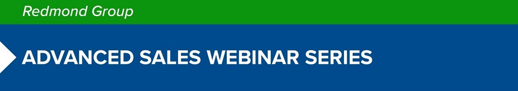 Redmond Webinar - Prospect Qualification and Account Transition