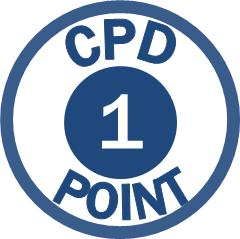 CPD points icons - 1 pt