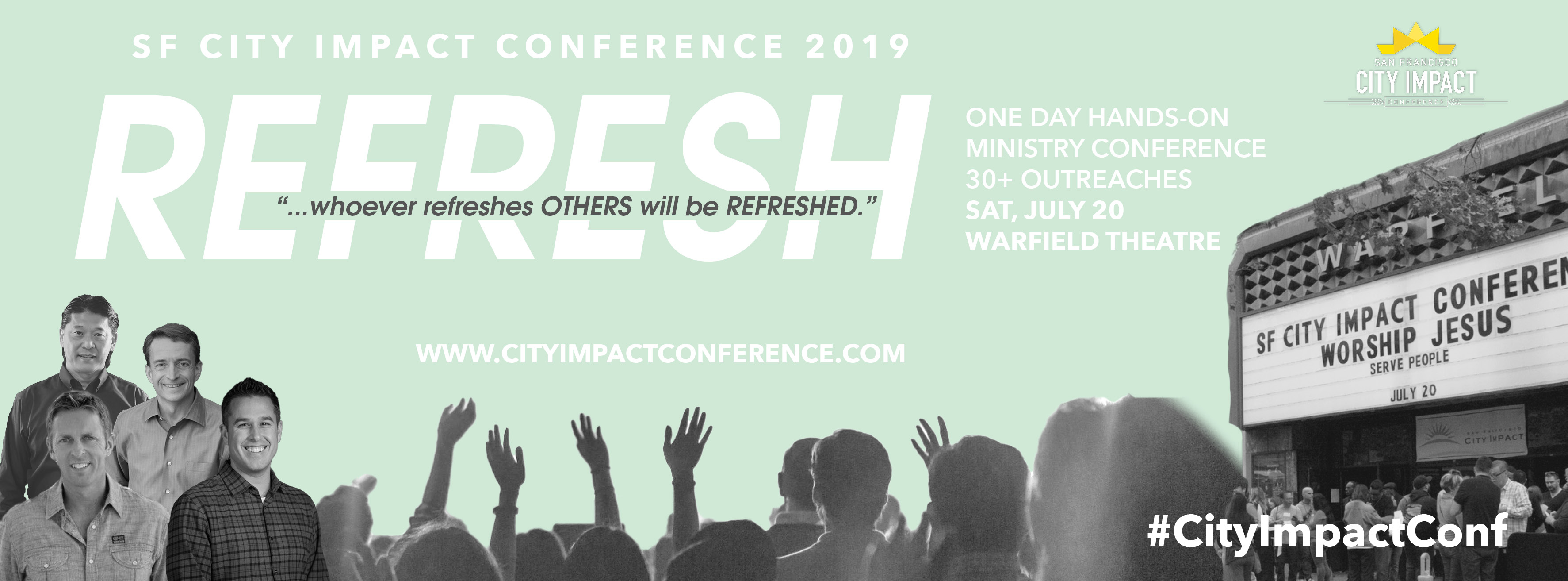 SF CITY IMPACT CONFERENCE 2019