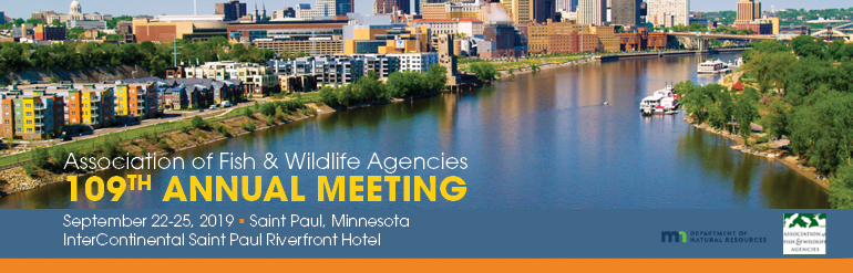 Association of Fish and Wildlife Agencies 109th Annual Meeting