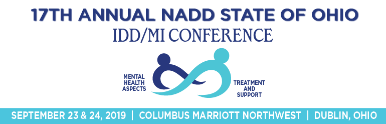 17th Annual NADD State of Ohio IDD/MI Conference - Sponsor & Exhibitor Registration